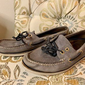 Sperry Gold Authentic Original Boat Shoes 9.5